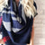 Royal Blue Blanket Scarf