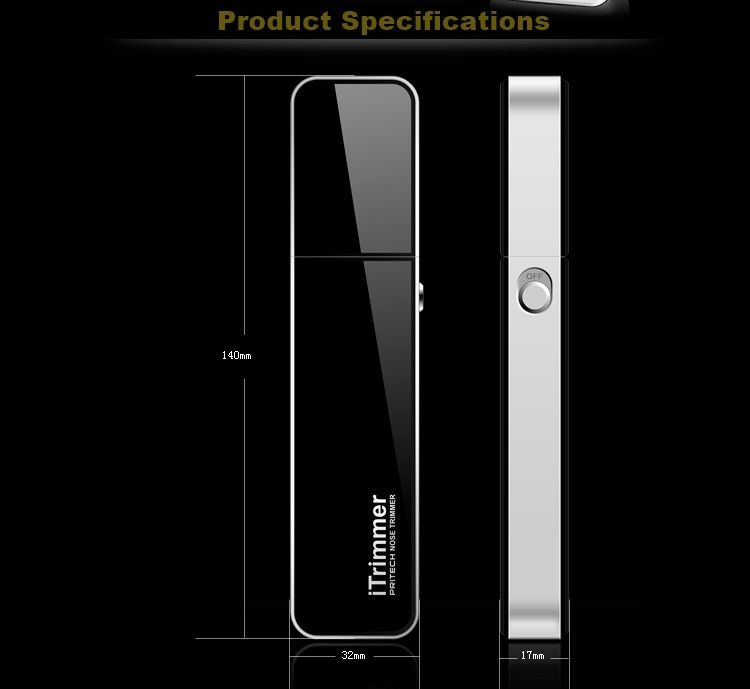 Pritech Unisex Electronic Nose Hair Trimmer - Godspeed Innovative - 9