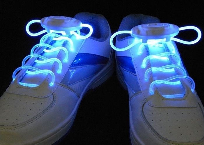 Luminous LED Flashing Disco Light Up Shoe Laces - Godspeed Innovative - 8