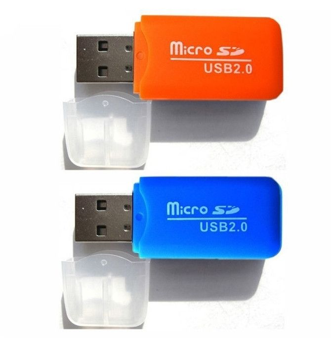 High Speed USB 2.0 Micro SD Memory Card Reader Adapter - Godspeed Innovative - 7