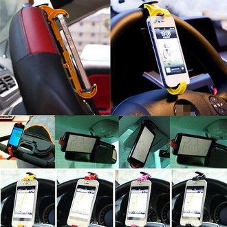 Vehicles Mountable Phone Cradle Holder And Smart Clip - Godspeed Innovative - 1