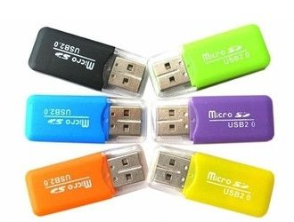 High Speed USB 2.0 Micro SD Memory Card Reader Adapter - Godspeed Innovative - 1