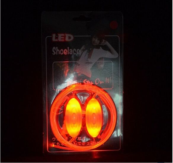 Luminous LED Flashing Disco Light Up Shoe Laces - Godspeed Innovative - 15