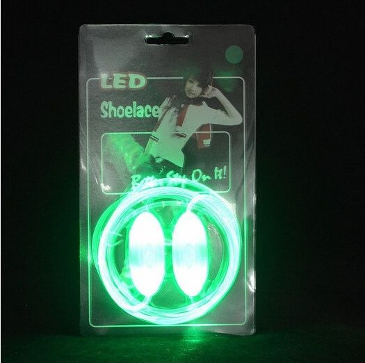 Luminous LED Flashing Disco Light Up Shoe Laces - Godspeed Innovative - 16