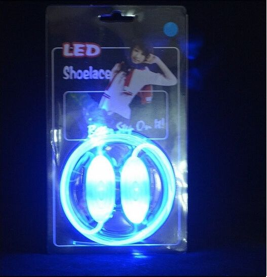 Luminous LED Flashing Disco Light Up Shoe Laces - Godspeed Innovative - 14