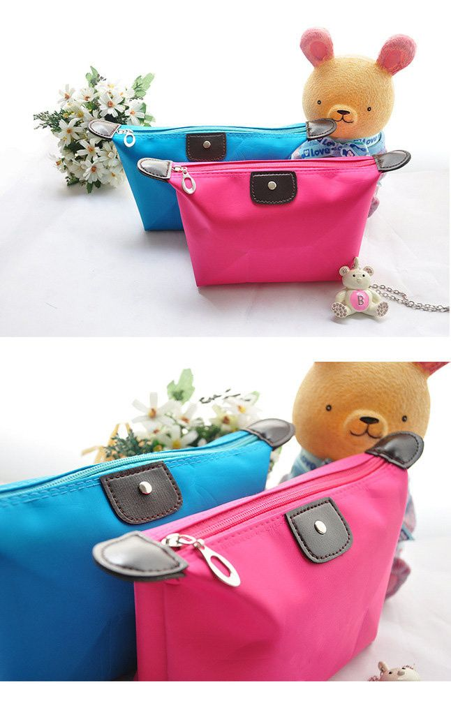 Women Waterproof Zipper Cosmetic Makeup Bag - Godspeed Innovative - 12