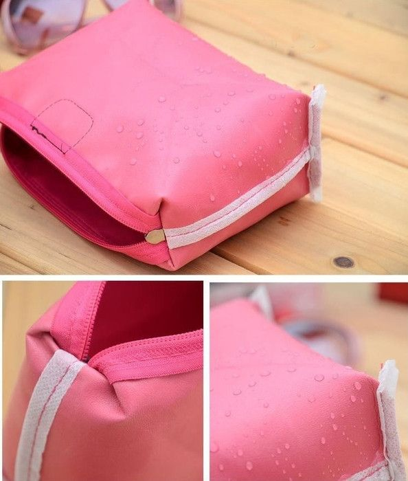 Women Waterproof Zipper Cosmetic Makeup Bag - Godspeed Innovative - 7