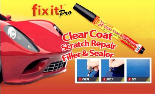 [As Seen On Tv] Fix It Pro Clear Car Scratch Repair Pen - Godspeed Innovative - 1