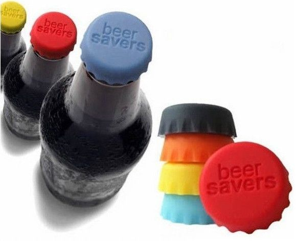 New Silicone Beer/Wine/Drinks Bottle Savers Caps - Godspeed Innovative - 1