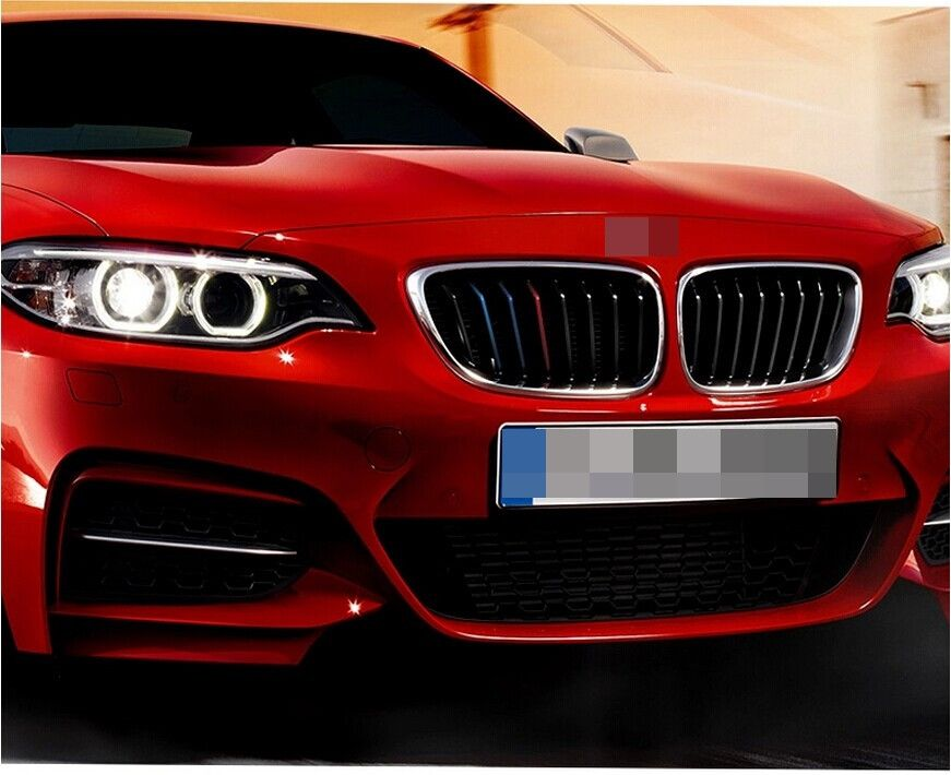 Car Front Grille Classic Colors Reflective Stickers BMW - Godspeed Innovative - 13