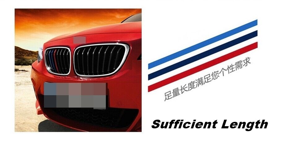 Car Front Grille Classic Colors Reflective Stickers BMW - Godspeed Innovative - 2