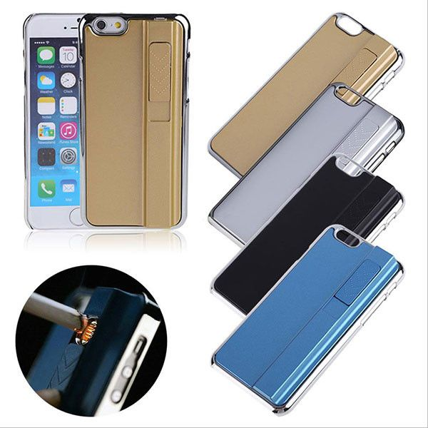 USB Rechargeable Wind-Proof Lighter Phone Cover - Godspeed Innovative - 24