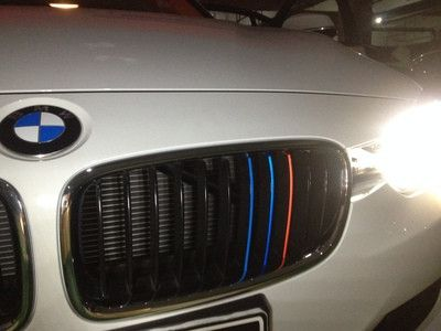 Car Front Grille Classic Colors Reflective Stickers BMW - Godspeed Innovative - 5