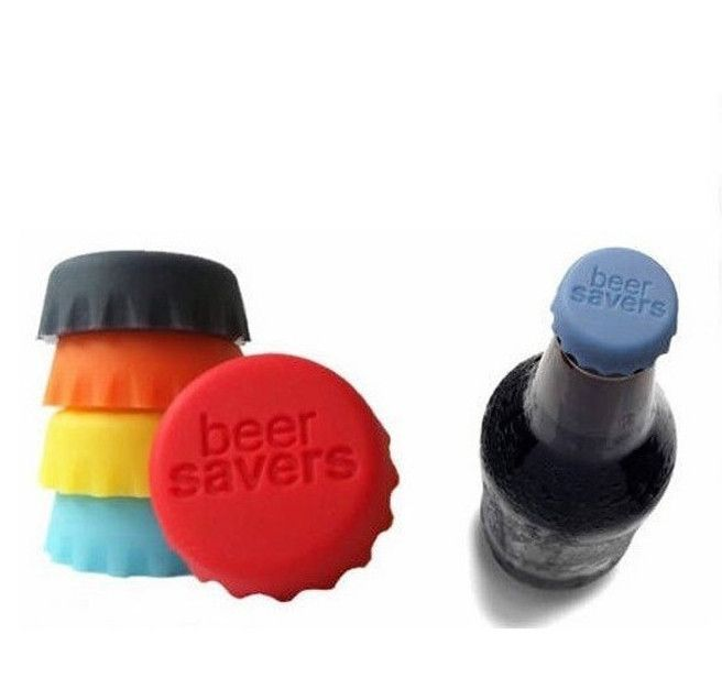 New Silicone Beer/Wine/Drinks Bottle Savers Caps - Godspeed Innovative - 2