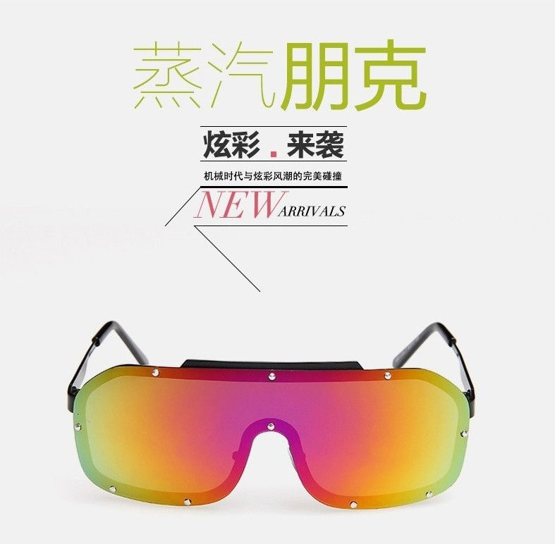 UV400 Rimless Steam Punk Google Fashion Sunglasses - Godspeed Innovative - 2
