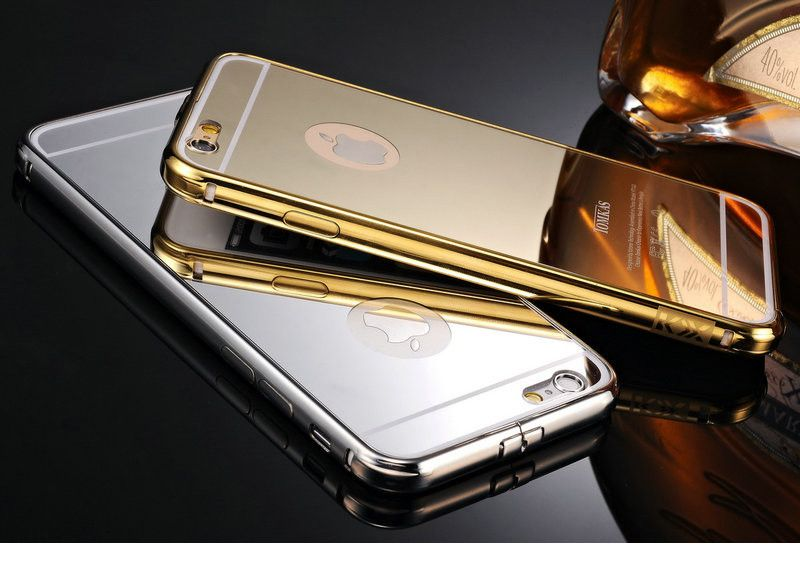 IPhones Mirror Aluminium  Acrylic Back Cover And Bumper - Godspeed Innovative - 18