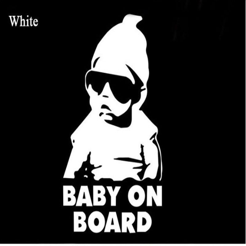 Custom Made Cool Baby On Board Vinyl Stickers - Godspeed Innovative - 1