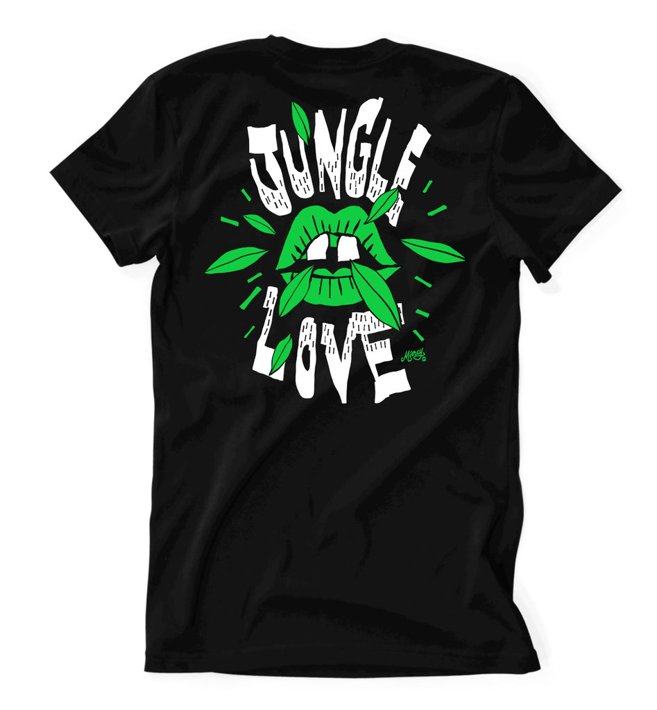 Jungle Love tee in all the colours