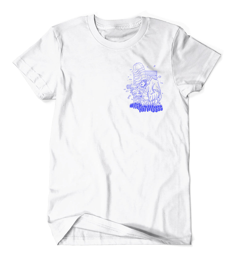 Hatttts v2.0 tee on white