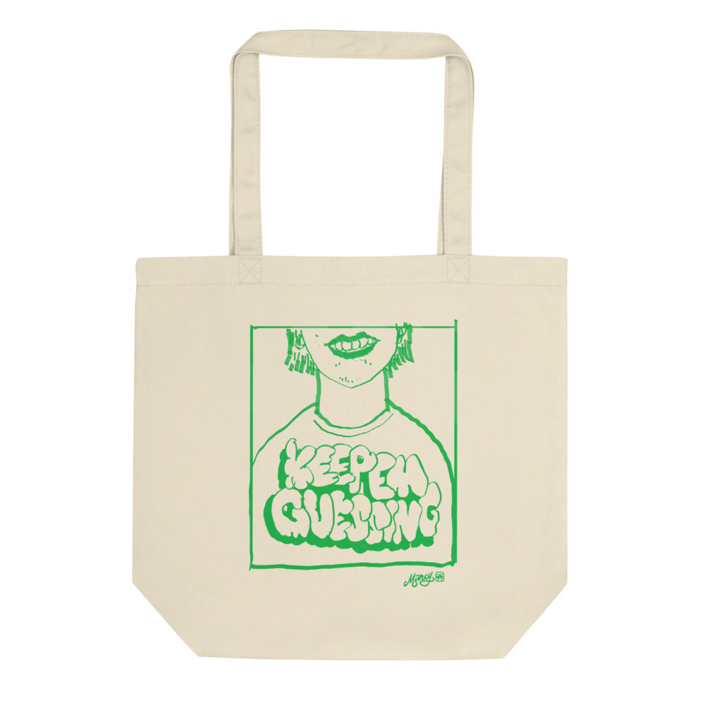 Keep Em Guessing totally totes eco tote