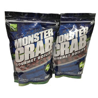 Rod Hutchinson Gourmet Boilies Monster Crab 15mm 1kg Boilies and Pop Ups Rod Hutchinson- GO FISHING TACKLE