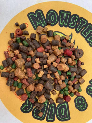 Monster Baits & Dips Specimen Mixed Pellets