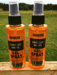 RINGERS Chocolate Orange Gel Spray. 100ml LISTING FOR ONE BOTTLE ONLY