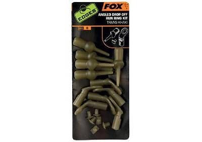 Fox Edges Angled Drop Off Run Ring Kit Terminal Tackle Fox- THE MATCHMEN ANGLING CENTRE