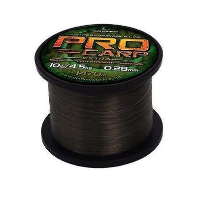 Gardner Pro Carp Line dark green Line and Braid gardner- THE MATCHMEN ANGLING CENTRE