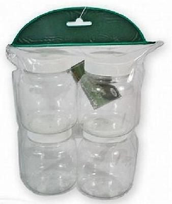 Glug Pots 4 in a pack accessories Misc- THE MATCHMEN ANGLING CENTRE