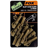 Fox Edges Slik Lead Clips & Pegs size 10 Terminal Tackle Fox- THE MATCHMEN ANGLING CENTRE