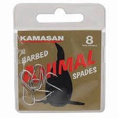 kamasan barbed animal spades sizes 18, 20