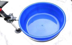 Bait Bowl for Chair legs Large fits  JRC, Korum, Fox,Nash,Chub, Matrix etc seatboxes Misc- THE MATCHMEN ANGLING CENTRE