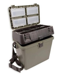 Compact Seat and Tackle Box seatboxes Misc- THE MATCHMEN ANGLING CENTRE