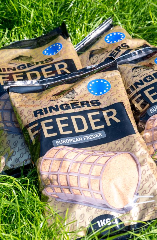 Ringers European Feeder. 1kg - 1 bag only groundbaits ringers- THE MATCHMEN ANGLING CENTRE