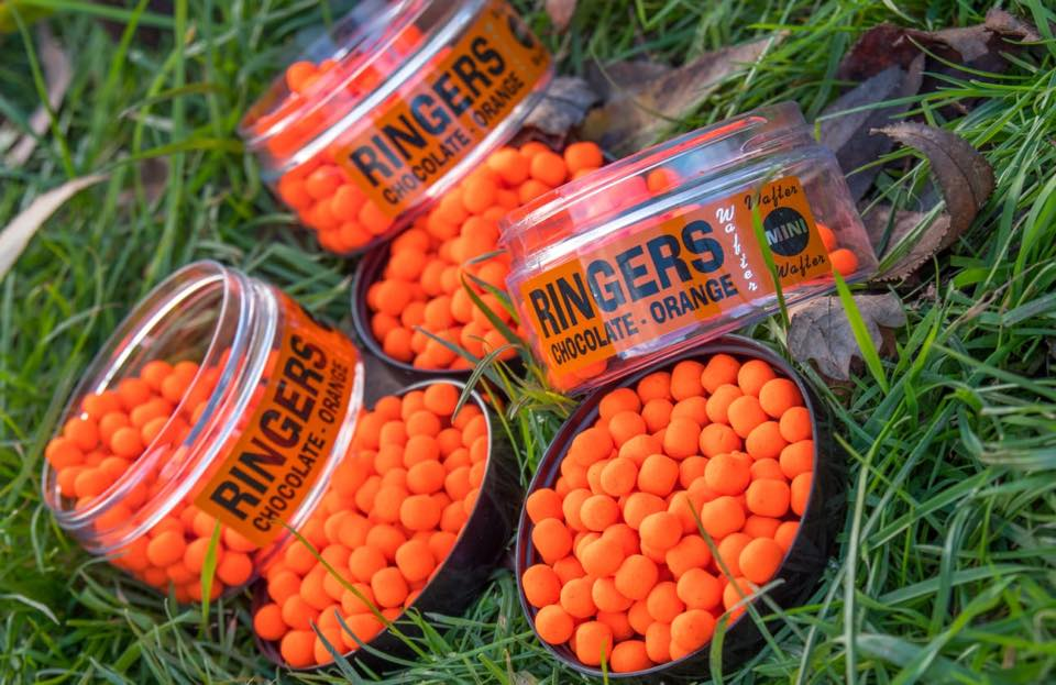 Ringers Chocolate Orange Wafter Mini 1 pot only Pellets ringers- THE MATCHMEN ANGLING CENTRE