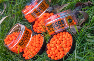 Ringers Chocolate Orange Wafter Mini 1 pot only Pellets ringers- GO FISHING TACKLE