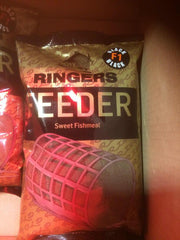 Ringers Feeder F1 Black Groundbait 1kg