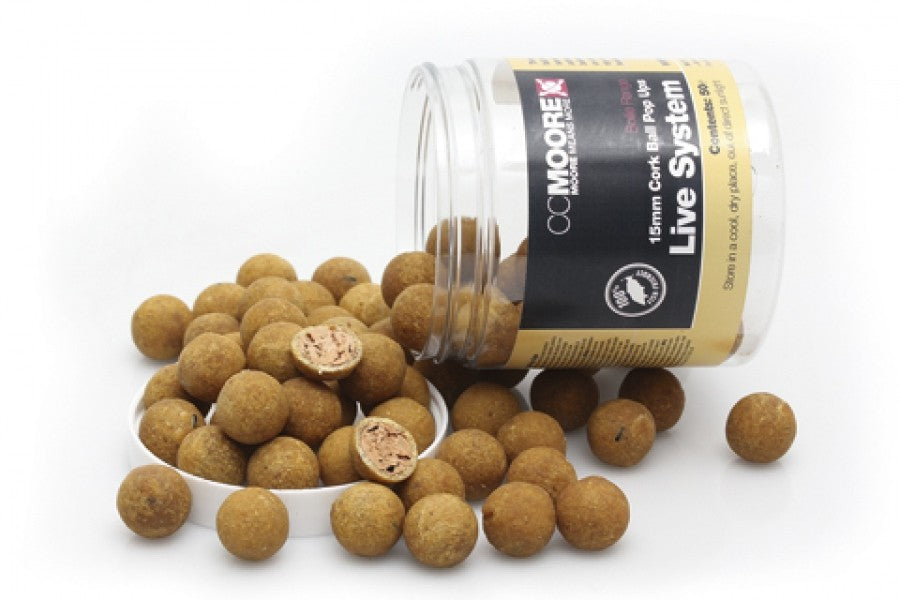 CC Moore - Live System Cork Ball Pop Ups Boilies and Pop Ups cc moore- GO FISHING TACKLE