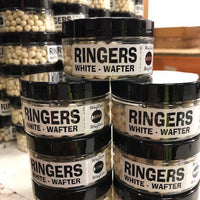 Ringers White Mini Wafter - 1 pot only Pellets ringers- GO FISHING TACKLE