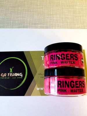 Ringers PINK Mini Wafter - 1 pot only Pellets ringers- GO FISHING TACKLE
