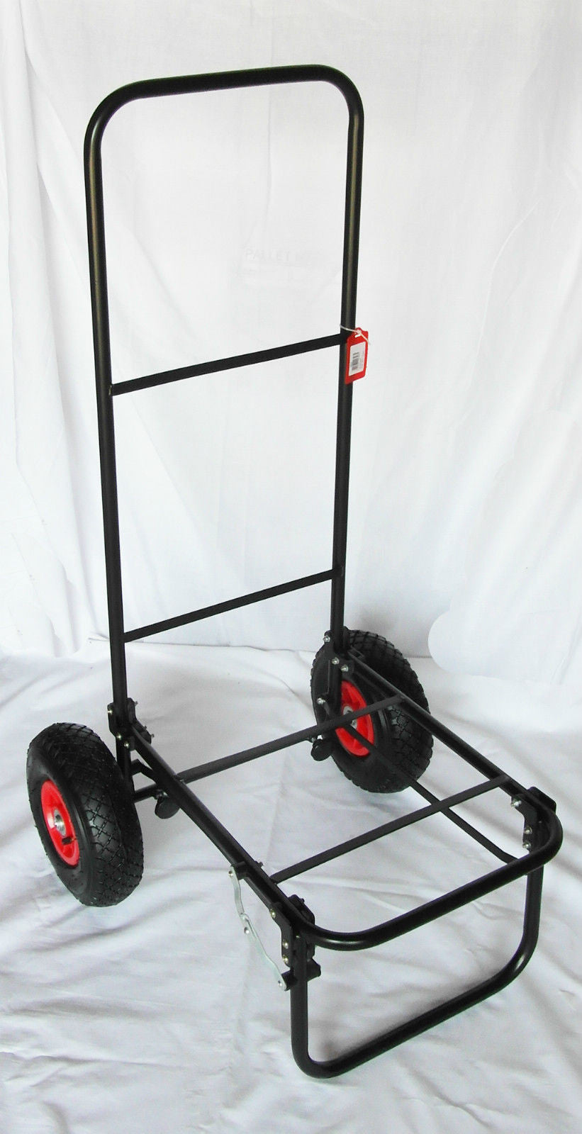 TMAC Folding Fishing Trolley with Pneumatic Tyres trollys and barrows TMAC- THE MATCHMEN ANGLING CENTRE