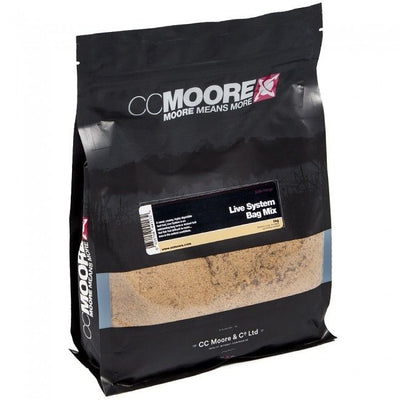 CC Moore Live System Bag Mix 1kg Groundbaits cc moore- GO FISHING TACKLE