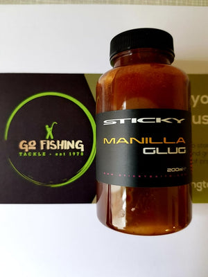 Sticky Baits Manilla Glug Attractants and Dips Sticky Baits- GO FISHING TACKLE