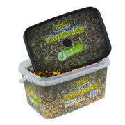 Hemp & Sweetcorn Particles Mix. PVA Friendly Prepared Bait 3kg particles Crafty Catcher- GO FISHING TACKLE