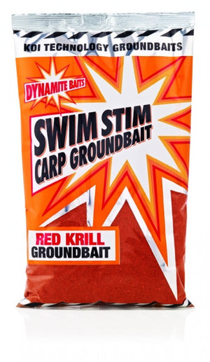 Swim Stim Red Krill Carp Groundbait Groundbaits Dynamite Baits- GO FISHING TACKLE