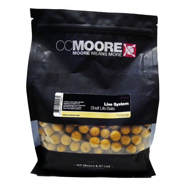CC Moore Live System Shelf Life Boilies Boilies and Pop Ups cc moore- THE MATCHMEN ANGLING CENTRE