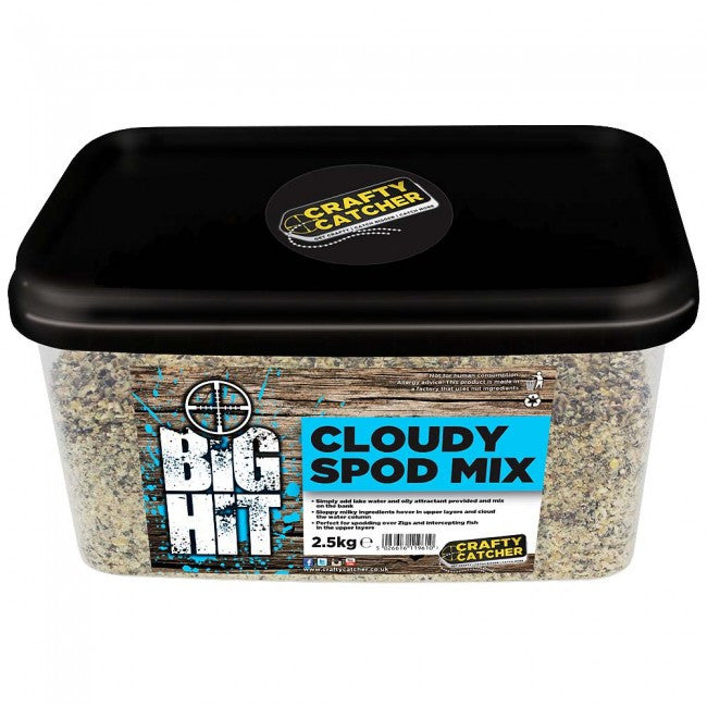 Crafty Catcher Big Hit Cloudy Spod Mix particles Crafty Catcher- THE MATCHMEN ANGLING CENTRE