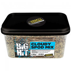 Crafty Catcher Big Hit Cloudy Spod Mix particles Crafty Catcher- GO FISHING TACKLE