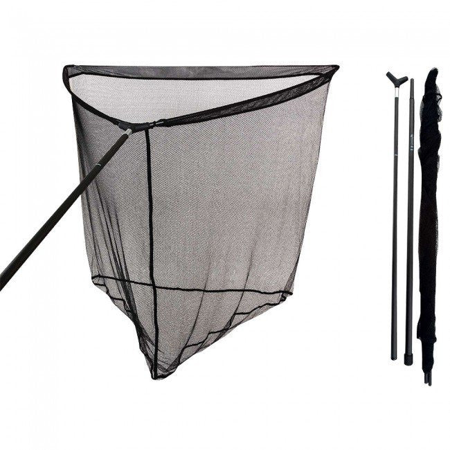 Fox Warrior S 42Inch Compact Landing Net carp care Fox- THE MATCHMEN ANGLING CENTRE
